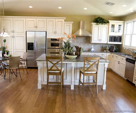 pictures of kitchens traditional white antique kitchen cabinets