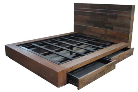 Build Platform Bed With Drawers by Platform Beds With Drawers