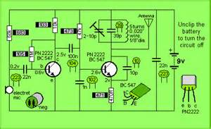 make simple fm transmitter using two 2n2222 transistors