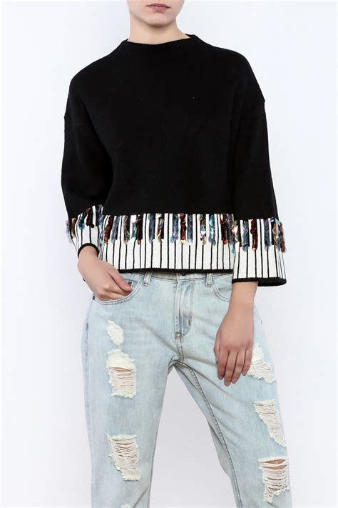 think closet piano sweater from williamsburg by think