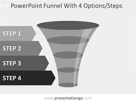 Gray Powerpoint Funnel Presentationgo Com Funnel Chart Powerpoint