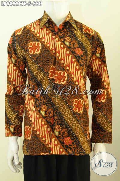 Supplier Baju Jawa Tengah galeri baju baitk jual kemeja lengan panjang furing pakaian batik jawa tengah