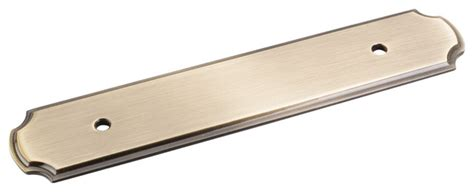 kitchen cabinet pulls with backplates antique brass backplates for pulls traditional cabinet
