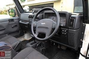 jeep lj interior 2005 jeep wrangler interior photos