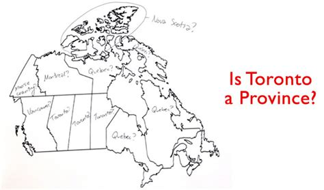 label map of canada americans attempt to label map of canada hilarity ensues