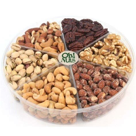 oh nuts freshly roasted holiday nuts gift basket nut
