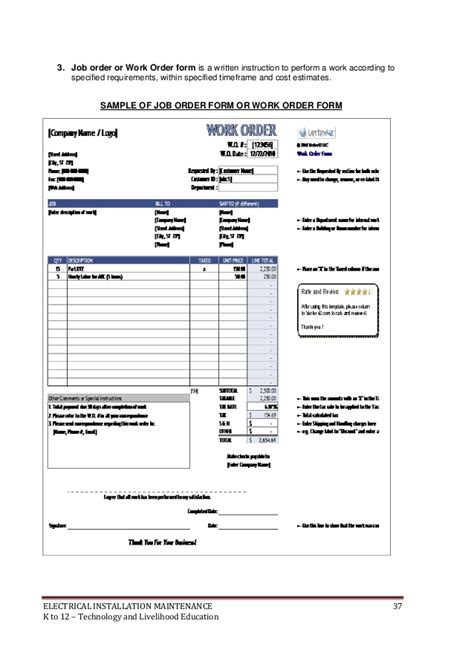 electrical estimate template madrat co
