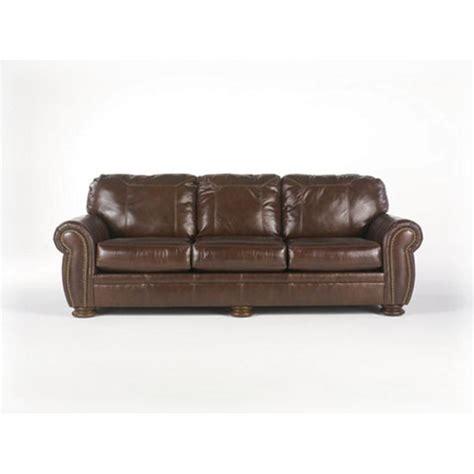ashley walnut sofa ashley palmer sofa refil sofa