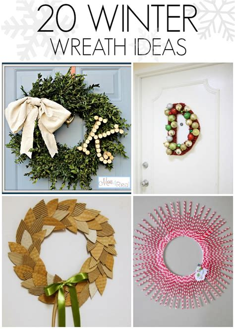 20 winter wreaths door decorations you can display all diy winter wreath ideas c r a f t