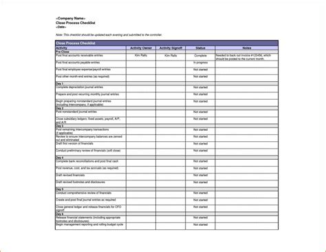 Inspection Checklist Template Excel by Audit Customs Compliance Sle Word Best It Quality