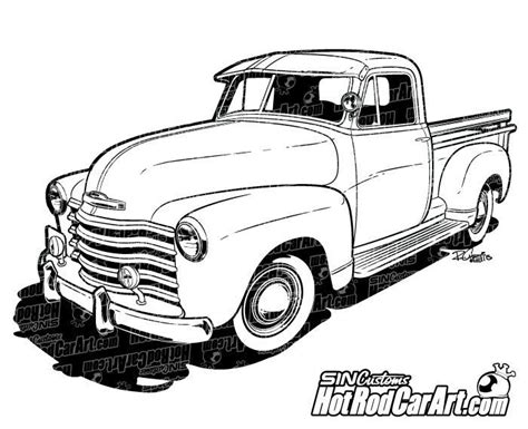 classic cars drawings 1947 chevrolet classic truck clip art car drawings and