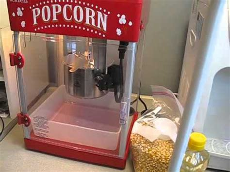la mejor maquina  hacer palomitas de maiz youtube