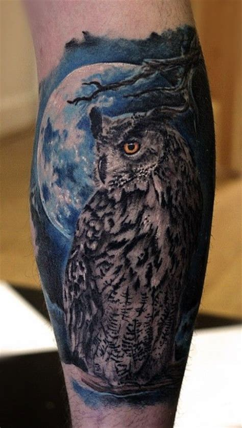 night owl tattoo owl by paulauskas tattoos
