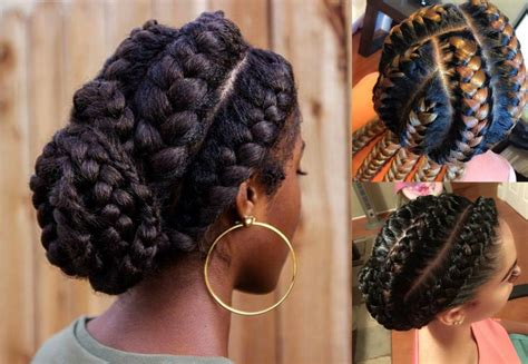 Black Hairstyles For Braids by Stunning Goddess Braids Hairstyles For Black