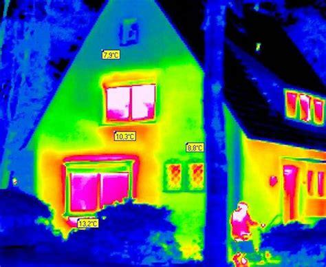 wärmebildkamera haus energetische sanierung schwachstellen mit der