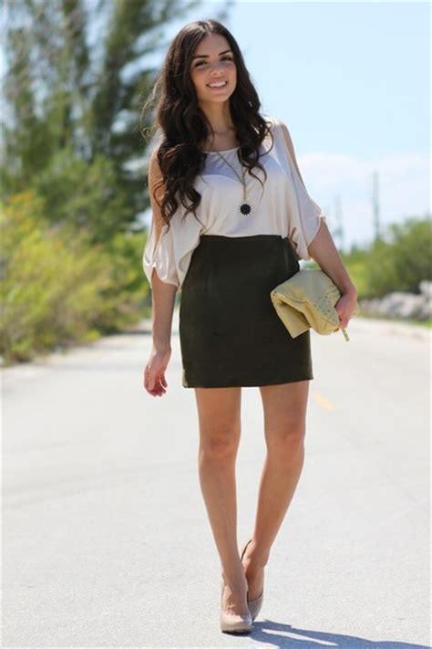 Top Dan Skirt Green Clpp8605 bags ivory bebe tops green vintage skirts quot wanderlust quot by nanysklozet