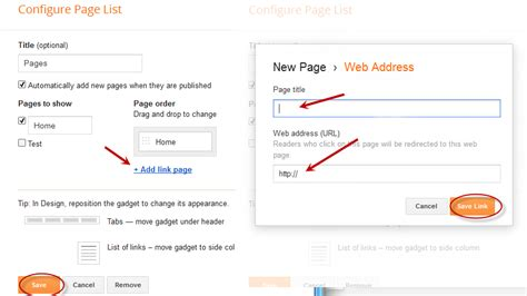 Blogger Pages | how to add static pages to a blogger blog updated new