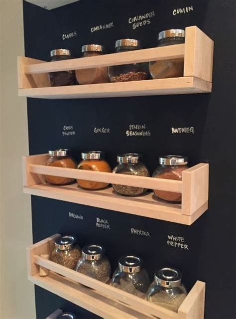 diy ikea wooden spice rack 18 ways to hack ikea spice racks
