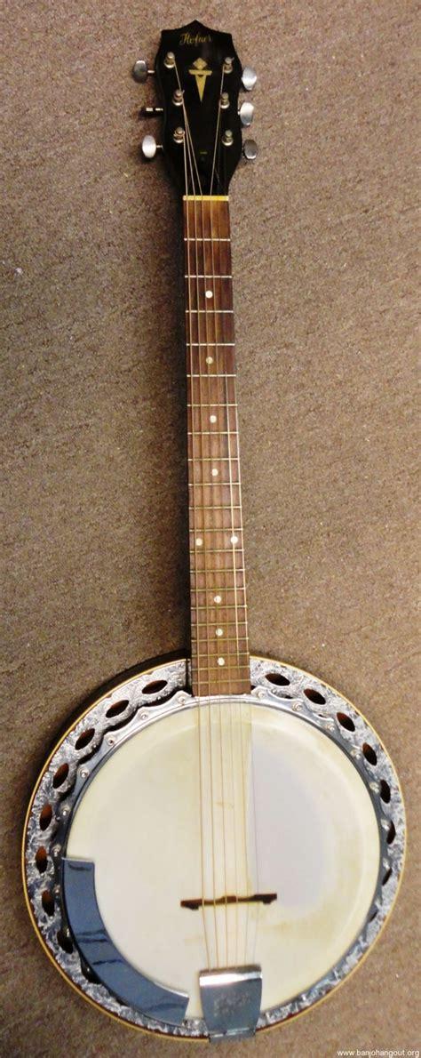 String For Sale - vintage hofner 6 string banjo used banjo for sale at