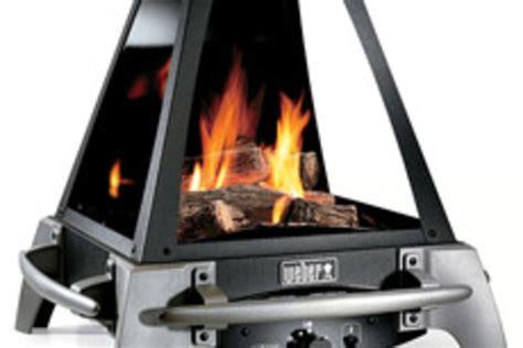 Weber Fireplace Gear Patrol Weber Gas Outdoor Fireplace Uncrate