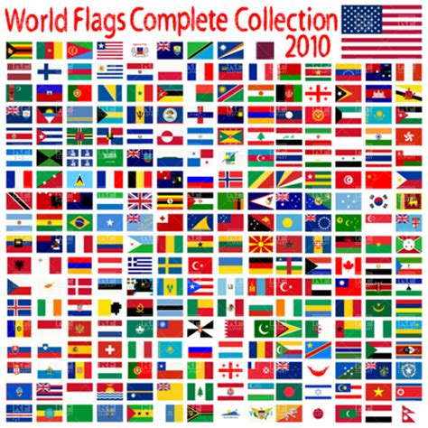 flags of the world gallery world flags collection royalty free vector clip art image