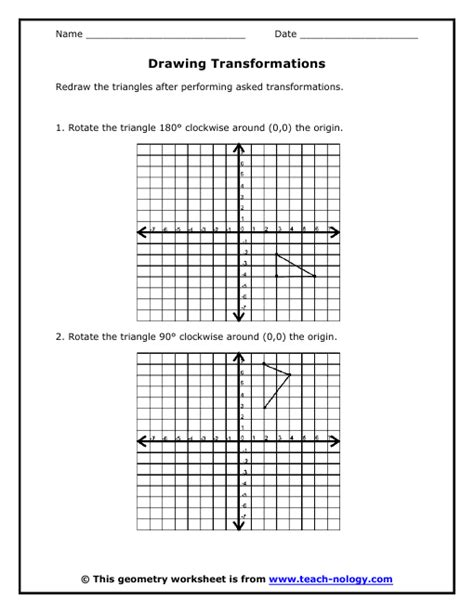 printable transformations quiz worksheet transformations worksheet caytailoc free