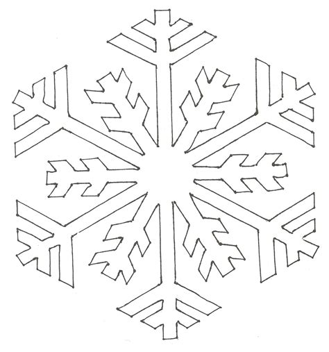 snowflakes designs printable snowflake pattern coloring pages