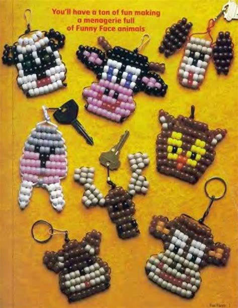 pony bead keychain patterns for 17 best images about pony on pony bead
