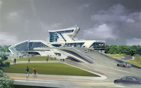 futuristic concepts for architecture