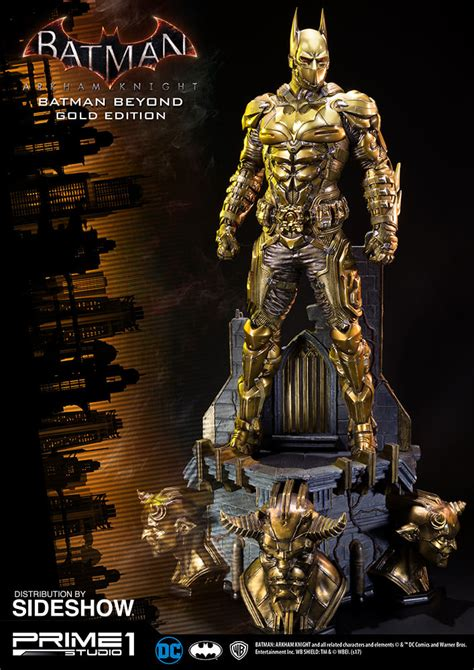 Batman The Golden dc comics batman beyond gold edition statue by prime 1