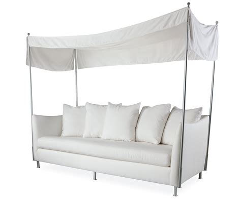 outdoor loveseat with canopy oleander outdoor sofa w canopy