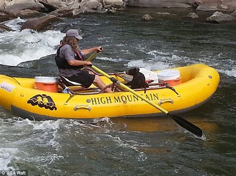wildlife boat r near me raft guide rescues abandoned bear cub from river by