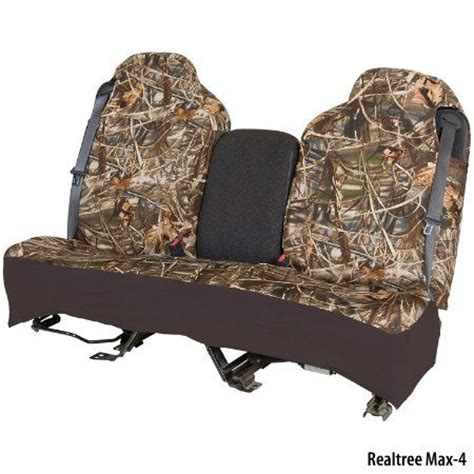 camo bench seat covers for trucks hatchie bottom semi custom fit full size truck seat cover