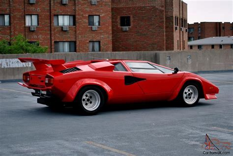 Lamborghini Countach Replica For Sale Uk 1980 Lamborghini Countach Prova V8 Chassis