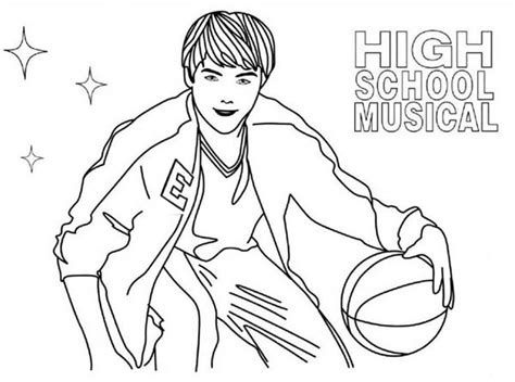 12 images of high school musical 3 coloring pages high