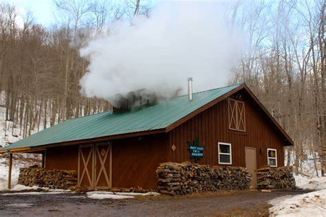 sugar house plans maple sugaring frost valley ymca