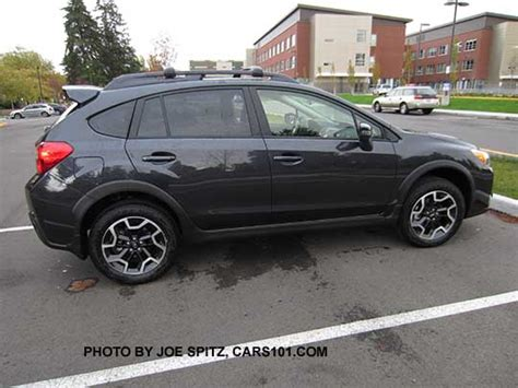 subaru crosstrek 2016 dark grey subaru 2016 crosstrek options and upgrades photo page 4
