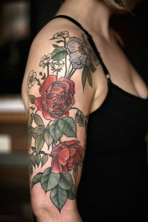 alice carrier tattoo exquisitely beautiful botanical tattoos by carrier
