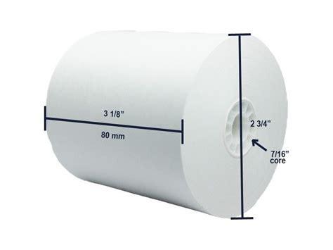 Thermal Paper Roll 80x80 thermal paper rolls 3 18 quot x 273 50 rolls per the