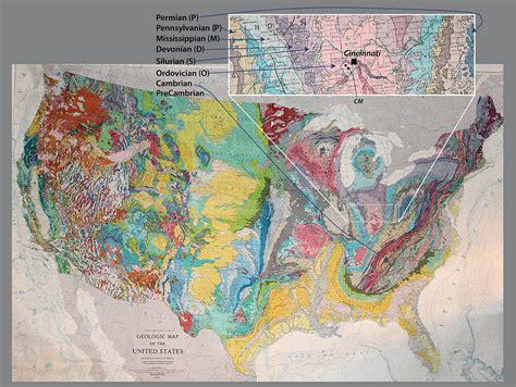 geologic map of united states creationism geologictimepics