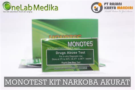 Jual Alat Tes Narkoba Di Palembang distributor alat uji cepat narkoba onelab medika