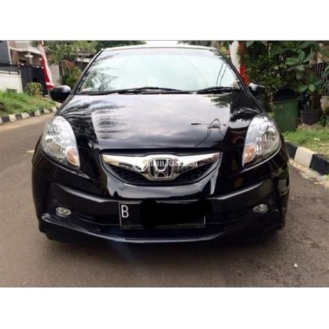 L Copotan Honda Brio Tahun 2013 honda brio e 1 2 l matic tahun 2014 warna hitam metalik irit terawat jakarta dijual tribun