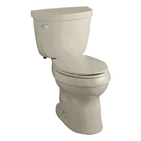Comfort Toilets Home Depot by Kohler Cimarron Comfort Height 2 1 6 Gpf Elongated