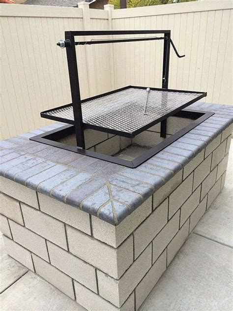 pit charcoal grill 25 best ideas about brick grill on outdoor