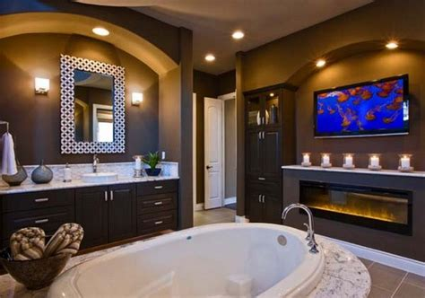 Bathrooms With Fireplaces - luxury bathrooms with fireplaces inspiration and ideas
