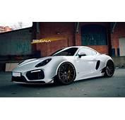 Bengala Porsche Cayman Mit Wide Body Kit Rendering  Der