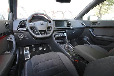 seat ateca interior prueba seat ateca fr 2 0 tdi 150 cv 4drive