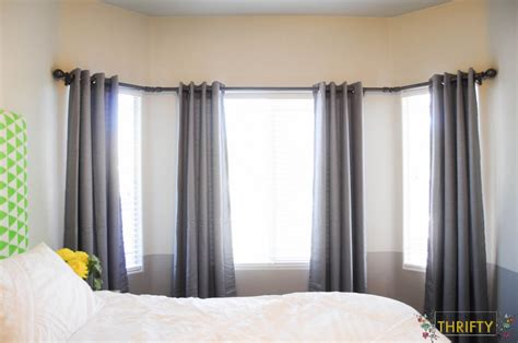 Bow Window Treatments Pictures 5 diy curtain rod ideas fabulessly frugal