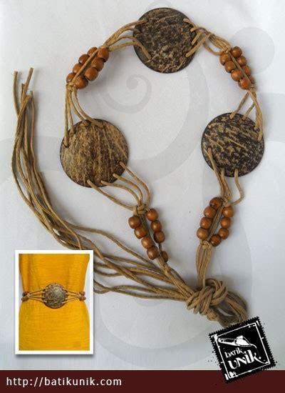 Original Gesper Ikat Pinggang Simple All Size ikat pinggang tali batok monte kayu sabuk etnik murah batikunik