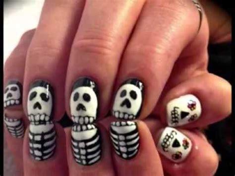 imagenes de uñas pintadas para halloween ideas para pintar tus u 241 as de halloween u 241 as para